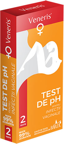 Cutie Test Veneris de pH pentru infectii vaginale
