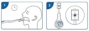 efectuarea testului antigen covid-19 saliva